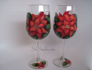 sibstudio dot com painted wine glasses