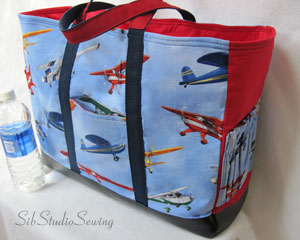 Airplane Diaper Bag is my newest diaper bag