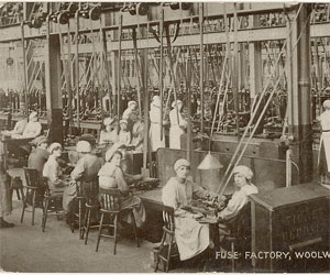 The invention of the sewing machine triggered the emergence of a new industry